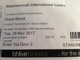 Royal Blood ticket for BIC