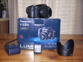 Panasonic DMC-FZ28 digital camera in excellent condition