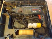 Bosch Hammer Drill, GBH 2400, 110V, with case.