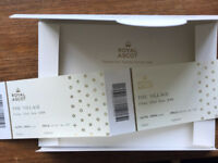 Royal Ascot Village Enclosure Friday Tickets x2 – Deliver personally South West or Central