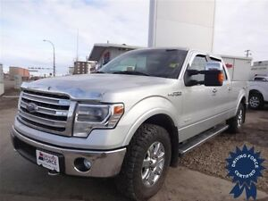 2014 Ford F-150 Lariat 4WD SuperCrew, 3.5L V6, 46,016 KMs
