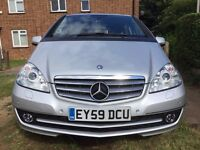 MERCEDES A CLASS A180 CDI ELEGANCE, LOW MILEAGE, FULL SERVICE HISTORY, 6SPEED MANUAL, DIESEL, SILVER