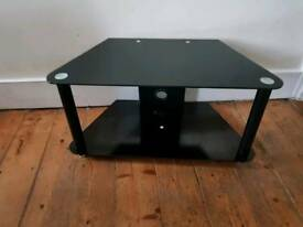 "Black glass tv stand for 32"" tv"