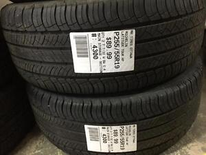 255/55/19 Michelin Latitude Tour HP allseasons tires