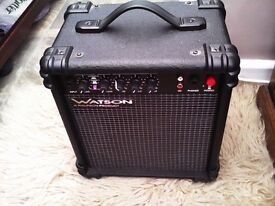 WATSON PRACTICE GUITAR AMPLIFIER IN SUPERB CONDITION