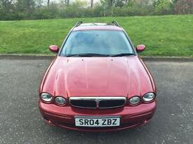 JAGUAR X TYPE ESTATE AUTOMATIC WITH SUNROOF..GENUINE MILEAGE 59K..MOT 08-09-17..ONLY £1399/- ONO