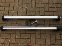 GENUINE BMW LOCKING ROOF BARS FOR X5 E53 (2000-2006 MODEL YEAR) - GOOD CONDITION - PICKUP ONLY