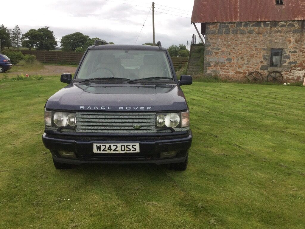 2000 range rover p38 autobiography 4 6 litre with lpg conversation for spares or repair in. Black Bedroom Furniture Sets. Home Design Ideas