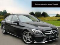 Mercedes-Benz C Class C220 D AMG LINE PREMIUM PLUS (black) 2015-10-30