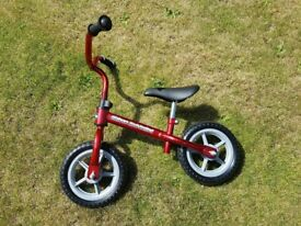 Chicco Red Bullet Balance Bike - £20