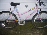 mountain bike ladies raleigh coco,,,vgc,,,NICE BIKE,,SORRY WONT GO LOWER ON PRICE,,NO OFFERS