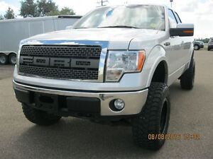 2011 Ford F-150 Lariat - Accident Free!! Lifted Ride!!PRICE REDU