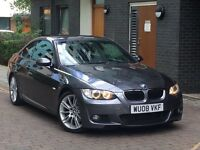 320d m sport coupe face lift model grey black leathers