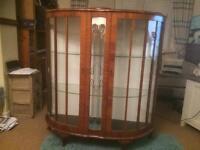 Glass cabinet Llanelli