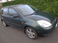 2004 ford fiesta 1.4 tdci diesel 5 door moted and taxed cheap tax only £30 needs some tlc DRIVEAWAY