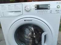 HOTPOINT 9KG WASHING MACHINE FULLY REFURBISHED COMES WITH 3 MONTHS WARRANTY