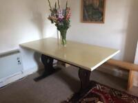 Refectory Dining / Kitchen Table