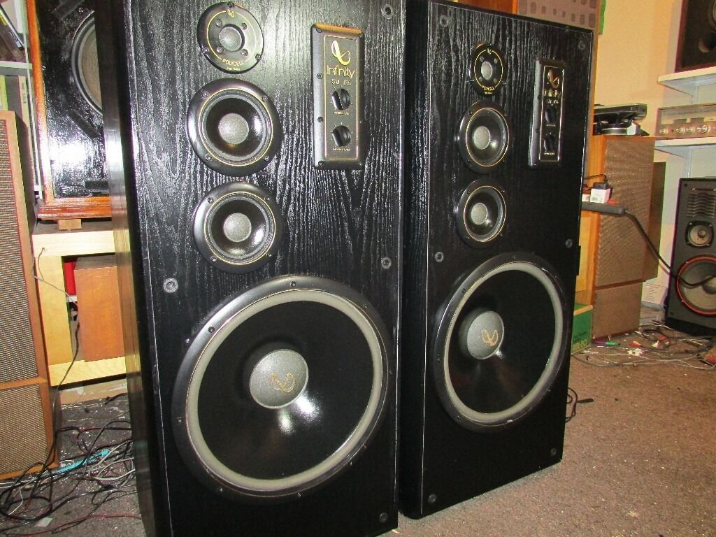 Infinity Loud Speakers Sm 155 Studio Monitor Series