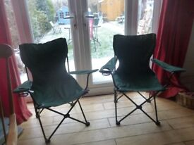 Folding Canvas Chairs