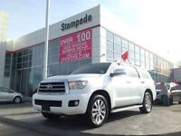 2014 Toyota Sequoia Limited Tech Package 8 Passanger