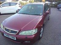 *REAL LUXURY,HONDA ACCORD EXECUTIVE METALIC BURGUNDY 1 OWNER FROM NEW!