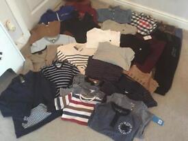 Huge boys Bundle Job lot Winter Clothes suit Age 5-6 Years 28 items