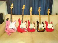 Job Lot of Electric Guitars