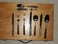 RETRO 68 PIECE GEORGE BUTLER OF SHEFFIELD CUTLERY SET - NOW REDUCED!