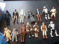 Figures from Star Wars £5 each - see my other ads