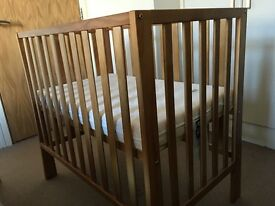 Mamas & Papas Petite Cot with Mattress for £60 only