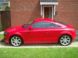 2007 Audi TT coupe 2.0T fsi s tronic dsg with flappy paddle