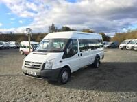 2010 FORD TRANSIT 17 SEATER MINIBUS##55K MILES##1 OWNER FROM MOD##