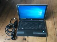 High specification HP i7 laptop