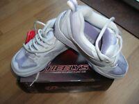 Heelys 'Fizz' White / Violet Shoes - Size 3