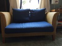 Quality wicker sofa ideal for home or conservatory