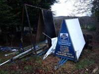 Advertising Trailer For Sale Solid Frame needs some TLC
