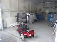 Pico mobility scooter hardly used