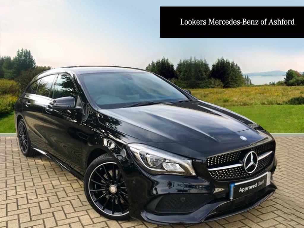 mercedes benz cla cla 220 d amg line black 2017 07 28 in ashford kent gumtree. Black Bedroom Furniture Sets. Home Design Ideas