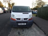 2006/06 RENAULT TRAFIC SWB,1 OWNER FROM NEW, DRIVES WELL.
