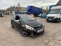 2013 Peugeot 208 1.6 THP GTi 200 BHP Very Light Damage Easy Repair