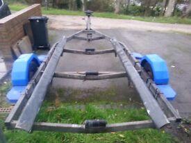 Snipe Boat trailer Galvanized 6.3 m
