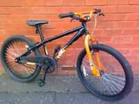 """X - Rated Exile Professional Dirt Jump Bike - 24"""" - good condition , ready to ride !"""