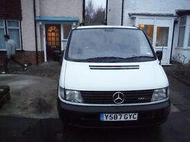 Mercedes Vito van still runs well, but needs repairs
