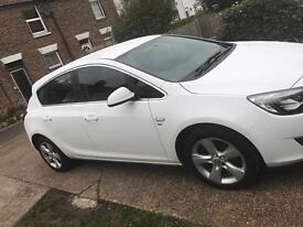 Vauxhall Astra SRi 1.4 2012