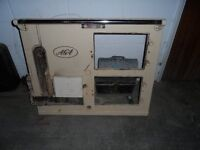 aga cooker wood burner soiled fuel 1930s