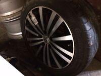 """Volkswagen passat sport 17"""" inch alloy brand new tyre 235 45 17"""