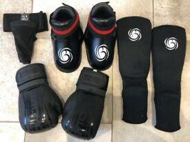 Kid's Bytomic Martial Arts Kit - Gloves, Pads Etc.