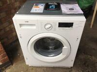 Logik 7kg intergrated washing machine x display item