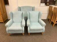 Next duck egg blue armchair * free furniture delivery *