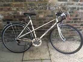 Women's vintage white Raleigh for sale